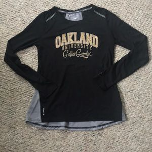 Champion brand Oakland University athletic shirt